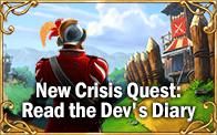 Dev Diary: Crisis Quest